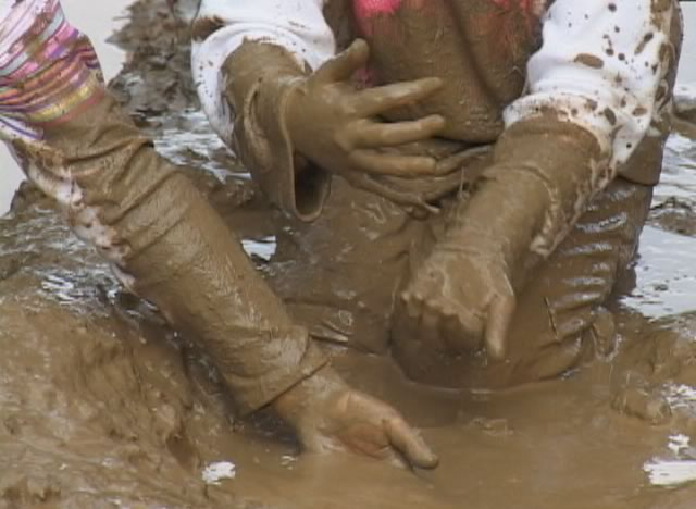porn pic in mud